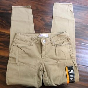 TWO FOR THE PRICE OF ONE Khaki Skinny Pants NWT